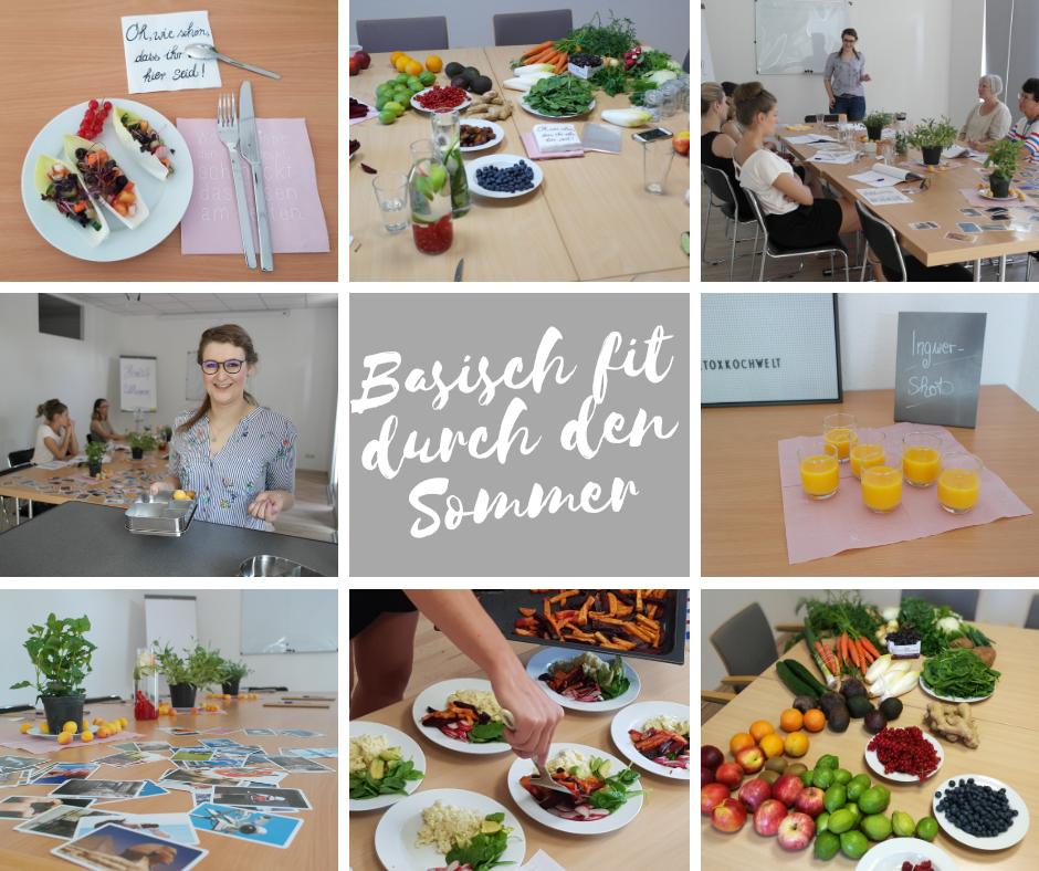 Workshop: Basisch fit durch den Sommer