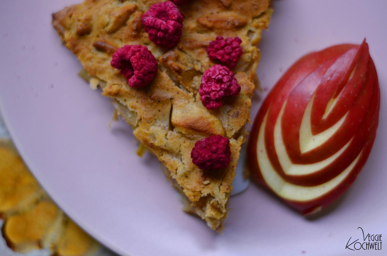 Apfel Ingwer Kuchen Mit Buchweizenmehl Veggiekochwelt
