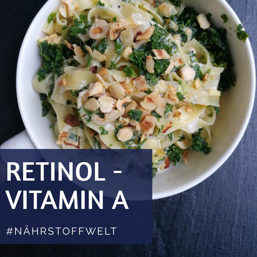 Vitamin A - Nährstoffwelt
