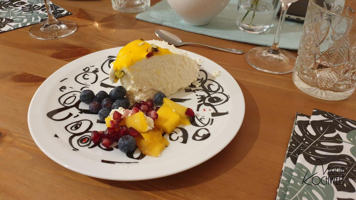 Joghurtbombe mit Mango